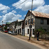PARAMARIBO. ANNIELAAN. OLD WOODEN HOUSES.
