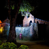 FORT ZEELANDIA BY NIGHT. PARAMARIBO. SURINAME.