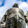 Statue of Johan Adolf Pengel at the Independence Square in Paramaribo, Suriname, South America