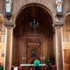 PARAMARIBO. INTERIOR OF THE ST. PETRUS EN PAULUS KATHEDRAAL. SURINAME.