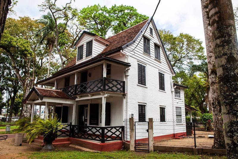 PARAMARIBO. OLD COLONIAL HOUSES. [3]