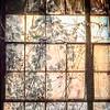Window with patina
