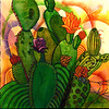Cactus Abstract2–SOLD