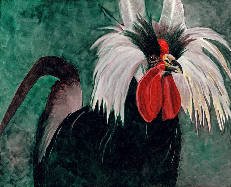 Rooster Board Scan–SOLD