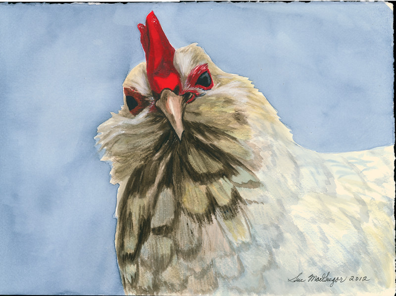 Blue Rooster (SOLD)