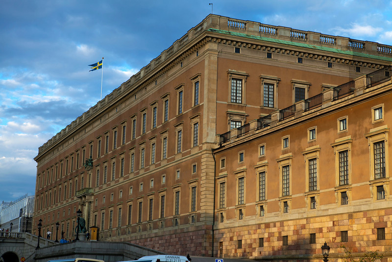 STOCKHOLM. GAMLA STAN. KUNGLIGA SLOTTET. [ROYAL PALACE]