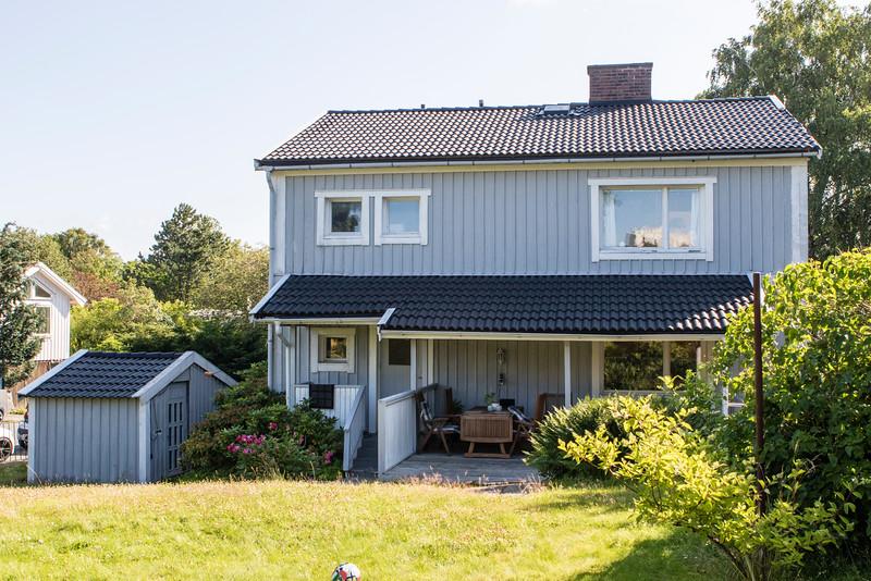 GOTHENBURG. WOODEN SWEDISH FAMILY HOUSE.