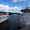 STOCKHOLM. GAMLA STAN. DOCK IN FRONT OF THE ROYAL PALACE,