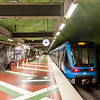 The Kungsträdgården Station in Stockholm, Sweden - Europe