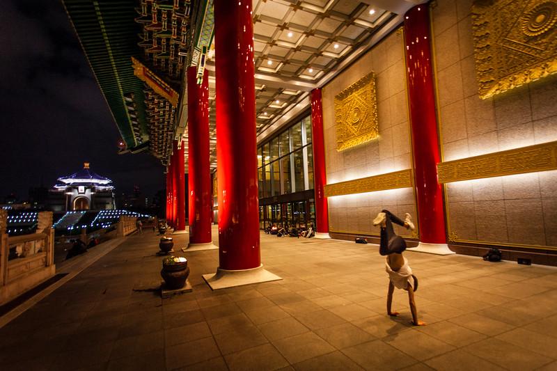 TAIPEI. NATIONAL CHIANG KAI-SHEK MEMORIAL.