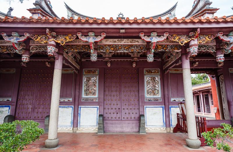 Confucian Temple complex in Tainan, Taiwan, Republic of China, Asia