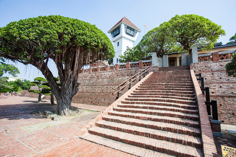 TAINAN. ANPING. ANPING FORTRES. OLD DUTCH VOC FORTRESS.