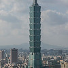 TAIPEI. VIEW FROM ELEPHANT MOUNTAIN AND TAIPEI 101.