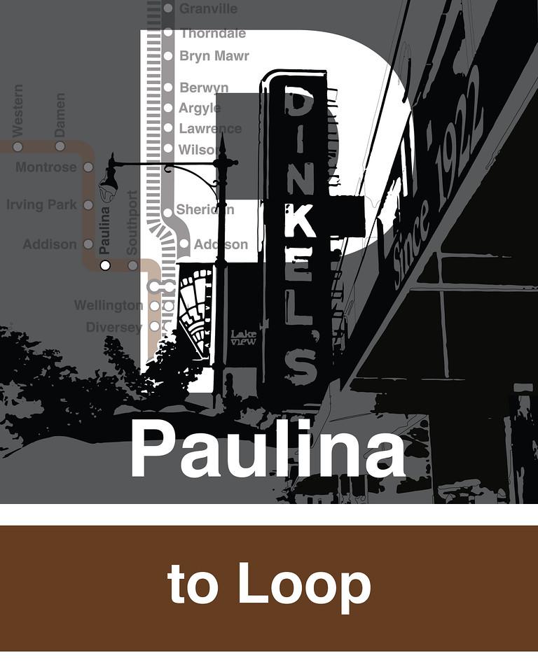 Paulina Brown Line
