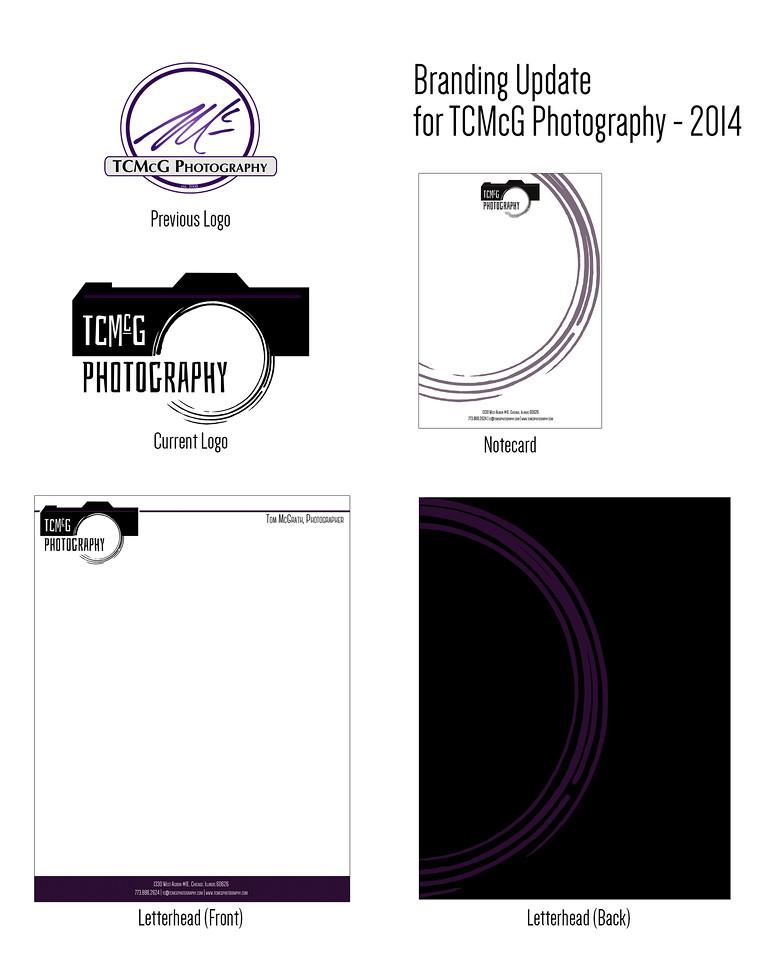 TCMcG Photography Brand Redesign