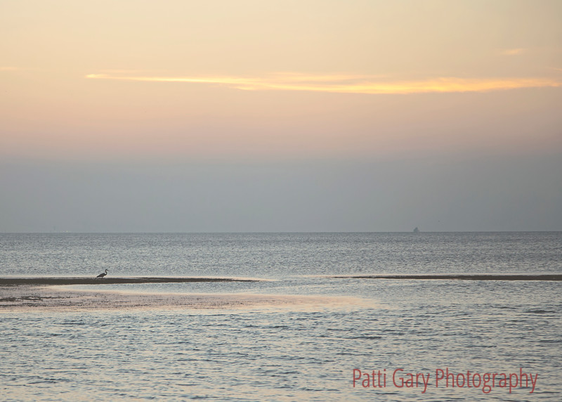 South Padre Island, Sunset on the Bay