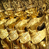 DETAIL OF TEMPLE. ROYAL PALACE. BANGKOK. THAILAND.
