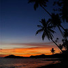 SUNSET. KOH MAK. THAILAND.