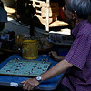 PLAYING CHESS. AYUTTHAYA. THAILAND.