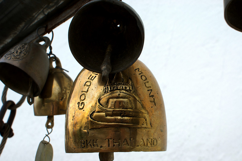 BELLS. GOLDEN MOUNTAIN. BANGKOK.