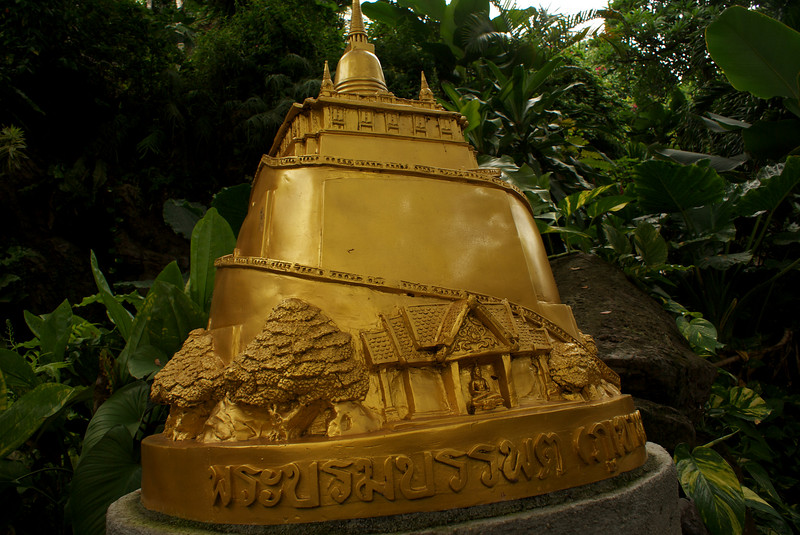 GOLDEN MOUNTAIN. SCALE MODEL. BANGKOK.