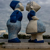 Kissing Couple XXXL (Kussend Paar) - Saske van der Eerden - Westpoort - Amsterdam - The Netherlands