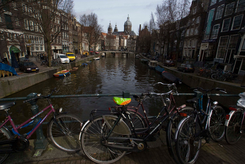 CANALS. AMSTERDAM.