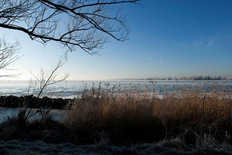 WINTER. WESTEINDER PLASSEN. AALSMEER. NOORD-HOLLAND.
