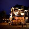 AMSTERDAM CENTRUM. CAFE HANS EN GRIETJE AT NIGHT.