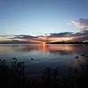 AALSMEER. NOORD-HOLLAND. SUNSET AT THE WESTEINDER PLASSEN (DE POEL).