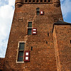 'S HEERENBERG. TOWER OF CASTLE HUIS BERGH. THE NETHERLANDS.