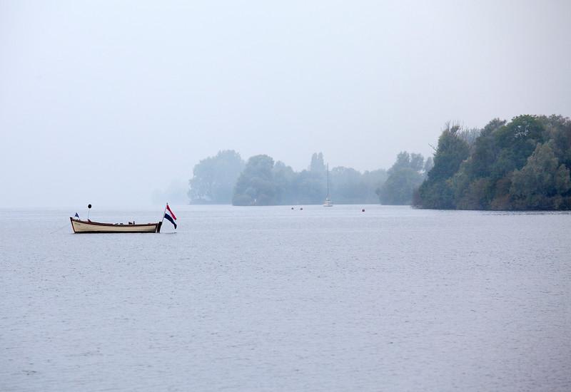 AALSMEER. WESTEINDER PLASSEN. FISHING BOAT.
