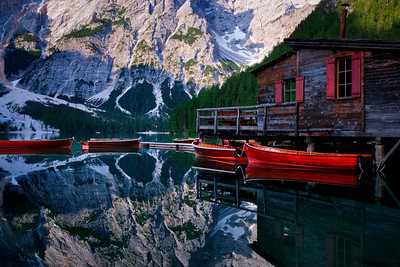 Boats di Braies
