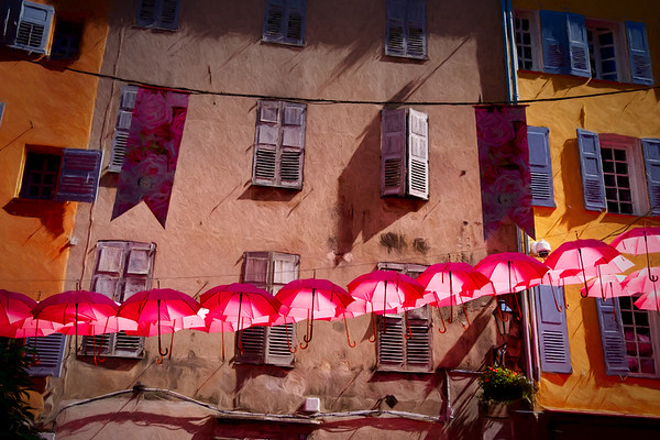 Unbearable Lightness of Umbrellas