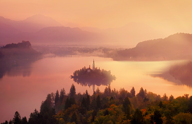 Bled Mist At My Feet
