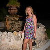 <center>IMG#1156  Amanda at the fountain, Dinner Party Nite - Aruba 2011<center>