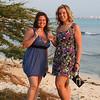<center>IMG#1107  Amber & Amanda toast the evening-Aruba 2011<center>