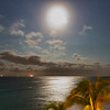 Full moon at 4:30 am May 14, 2014-Casa del Mar, Aruba.