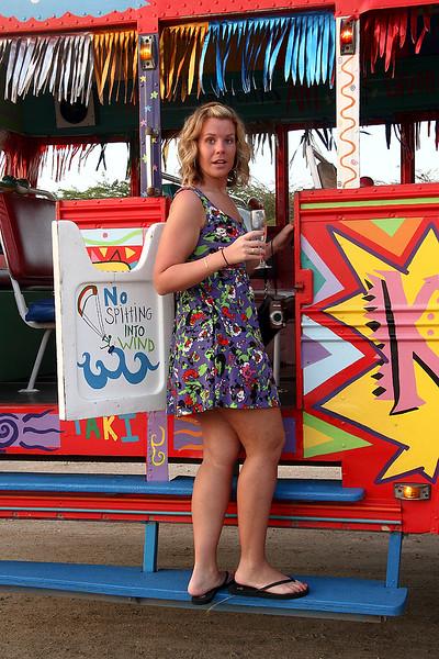 <center>IMG1119 Amanda back on the Party Bus - 2011<center>