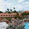 View from the 4th floor at Casa del Mar, Aruba-2014