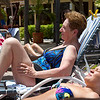 <center>IMG#0002 DAY 2-ARUBA Margaret Cheeseman and Rachel chat poolside...<center>