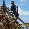 <center>IMG#1050  Tiki Hut repairman - 2011 Season<center>