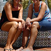 IMG#1035<br /> <br /> Taking a break at the Fountain...downtown Aruba<br /> Sisters