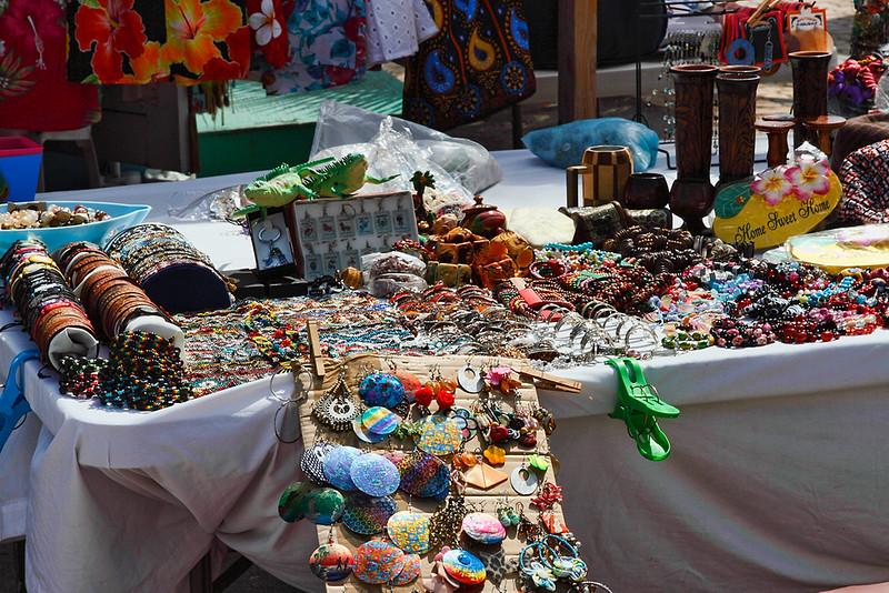 Table display sales...downtown aruba-2014