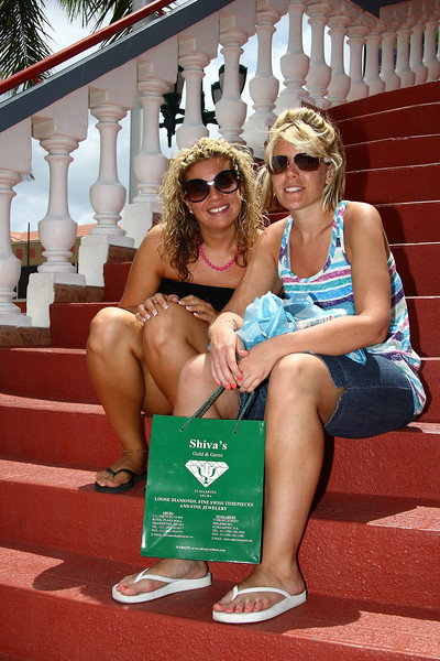 IMG#1033<br /> <br /> Downtown Aruba for lunch<br /> Rachel & Amanda