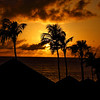 Tropical sunset at Casa del Mar, Aruba-2014