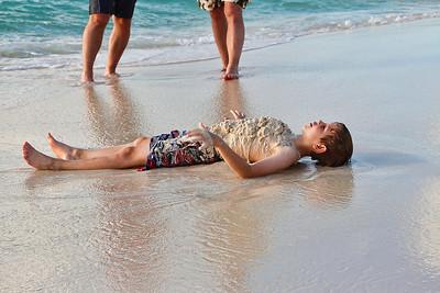 Boys will be boys...Eagle Beach, Aruba-2014