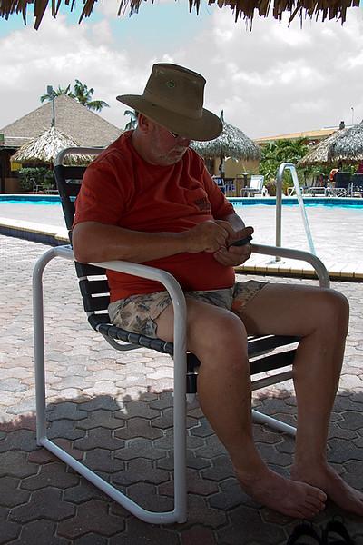 "<center>IMG#9998 DAY 2-ARUBA 2012 Jim Cheeseman...Mobile ""Poker Champ""<center>"