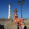 "<center>IMG#0983  ""Amanda"" Californian Lighthouse on the island of Aruba-2010<center>"