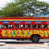 PARTY BUS...downtown Aruba-2014